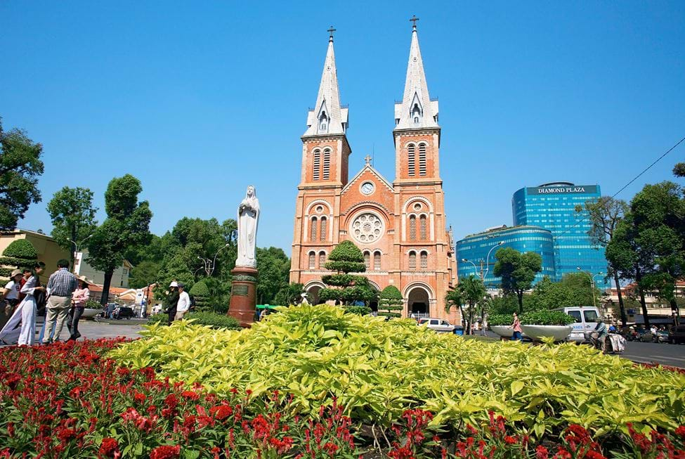 Notre Dame Cathedral, Ho Chi Minh City, Vietnam